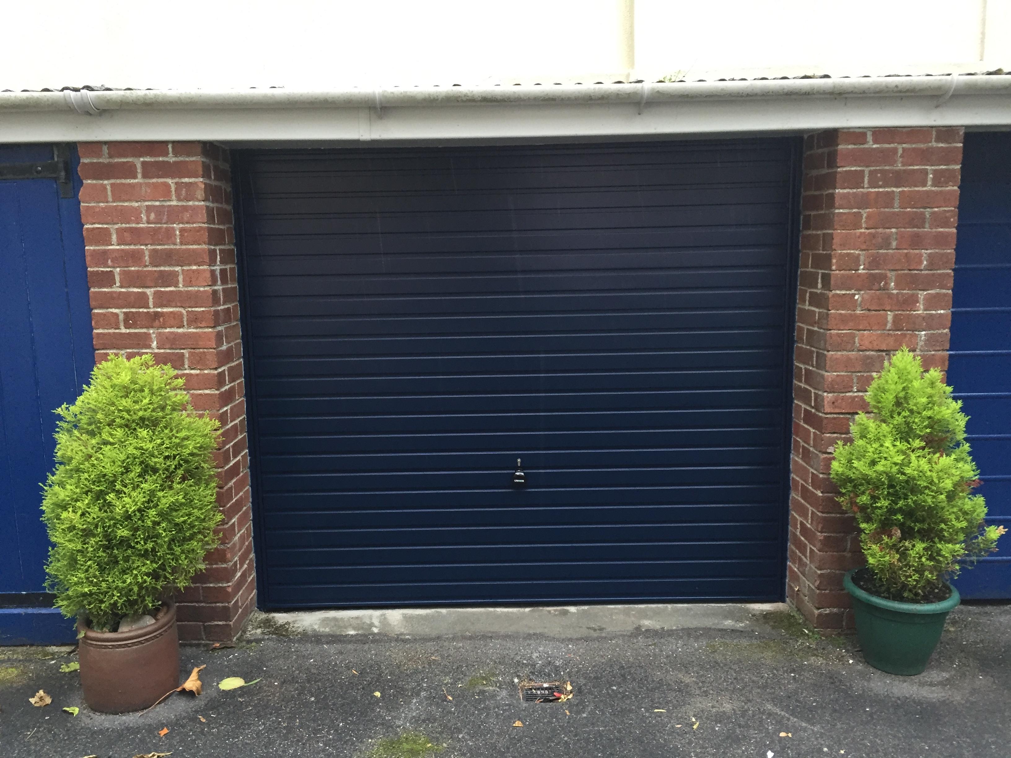 Garage doors devon garage doors exmouth garage doors kingsteignton garador horizon canopy dark blue rubansaba