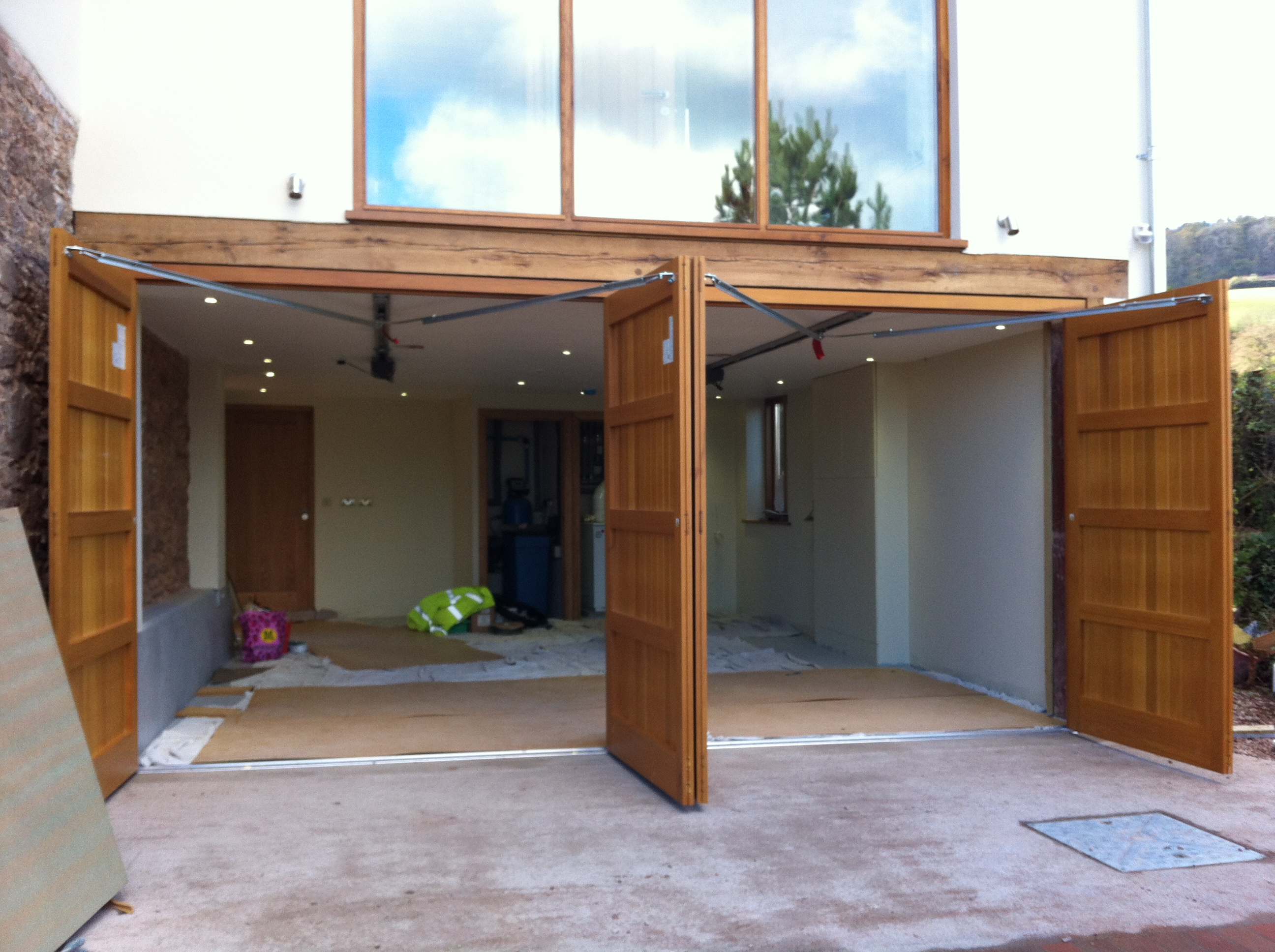 Side Hinged Garage Doors In Devon