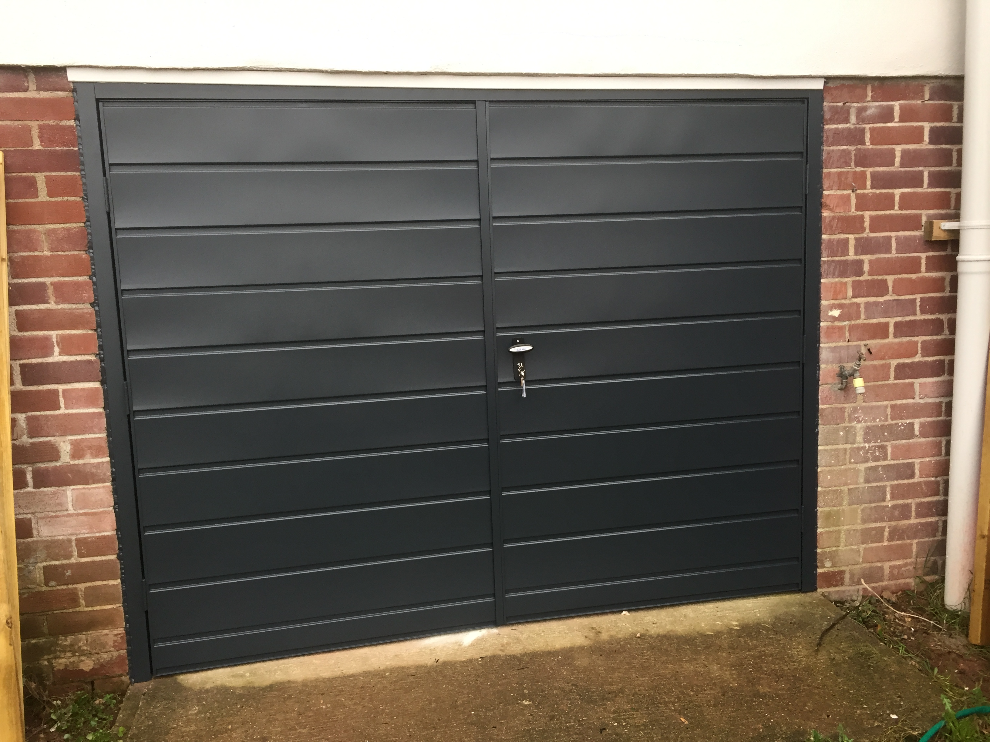 Side Hinged Garage Door Installation Information And