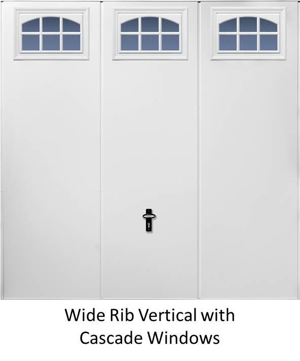 W Rib Cascade Windows