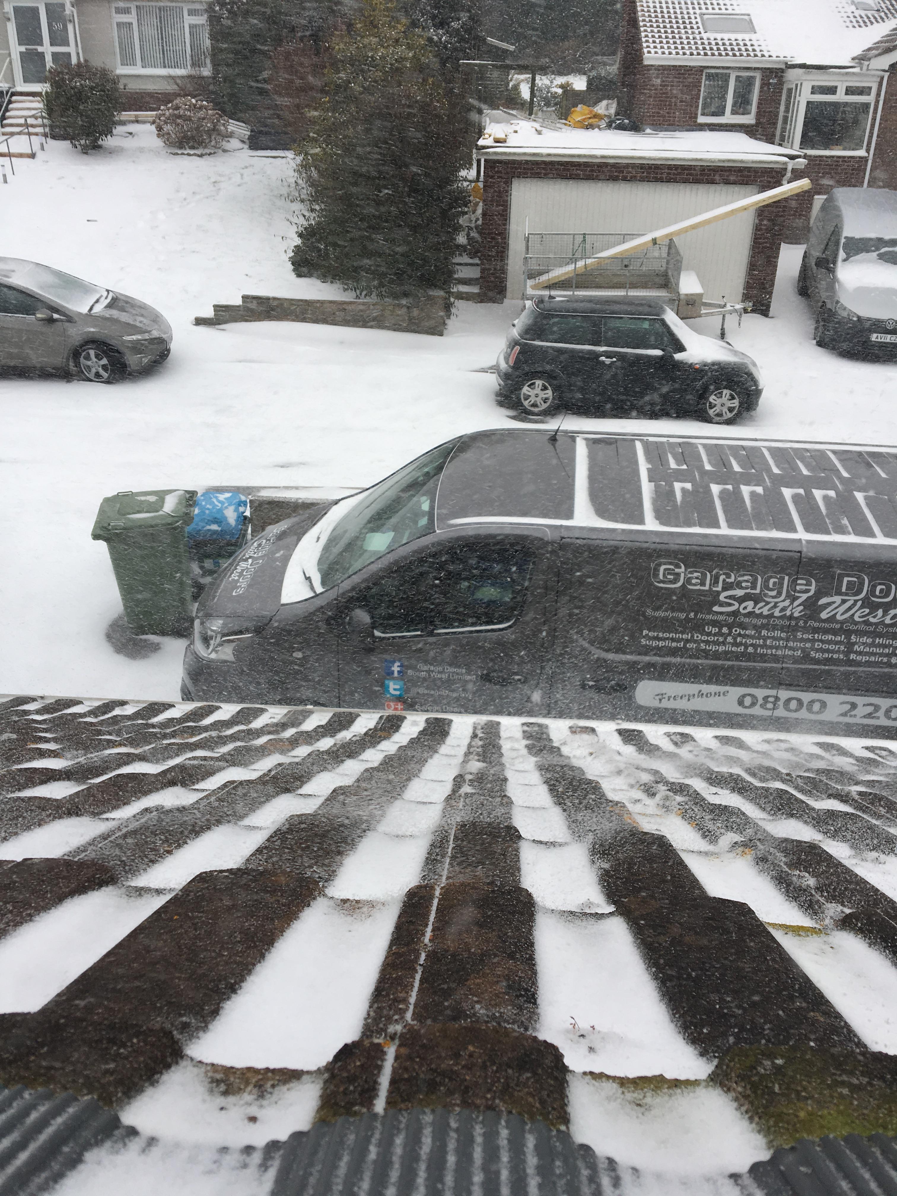 Snow Day 01 03 2018 Update Garage Doors